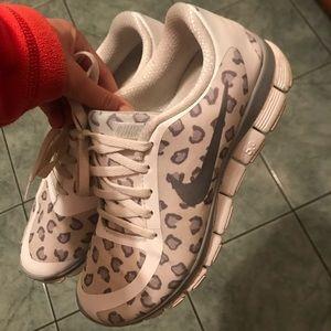 Cheetah print Nike's